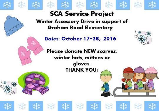 SCA Winter Drive