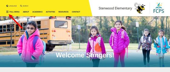Stenwood ES Home page Website