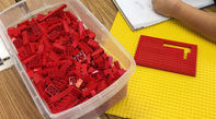 photo of box of legos