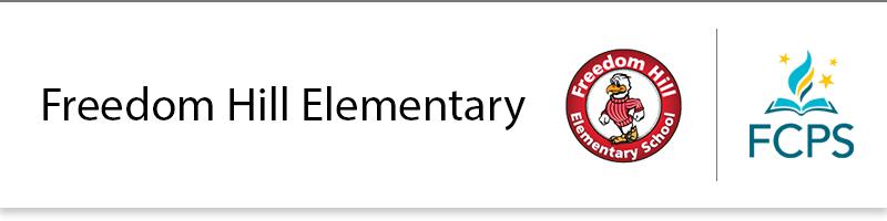 Freedom Hill Elementary School banner