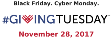 Black Friday Giving Tuesday