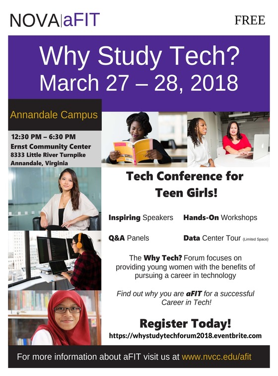 Tech Conference for Teen Girls