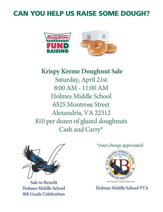 Krispy Kreme Donut Sale