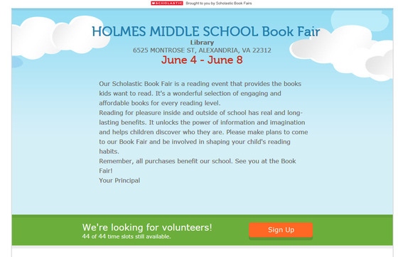 Spring Book Fair 1