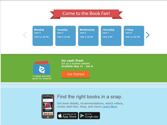 Spring Book Fair 2