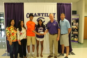 Asha Joythi donation to Chantilly