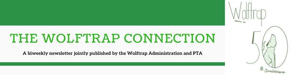 Wolftrap PTA banner
