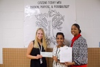 Braddock Road ES receives their teacher grant check