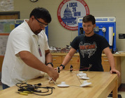 IBEW wiring demonstration