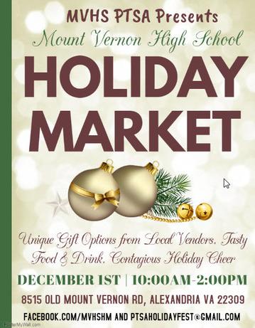MVHS Holiday Market