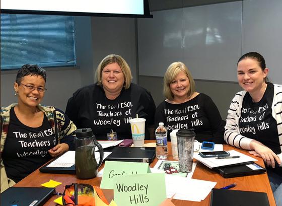 Woodley Hills ES ESOL teachers