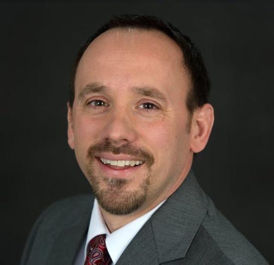 Chad Lehman, principal of Centreville HS