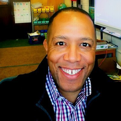 Ray Hoskie, Washington Mill ES, Steam Lab teacher
