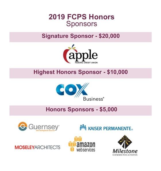 honors sponsor logos