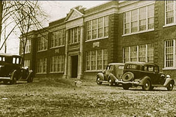 Fairfax High School, circa 1935