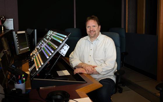 Rich Hronik, multimedia engineer, Sprague Technology Center