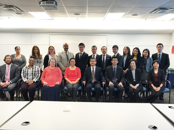 FCPS Office of Auditor General receives a visit from the GuangDong Audit Office