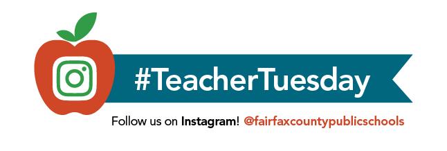 #TeacherTuesday on Instagram @fairfaxcountypublicschools
