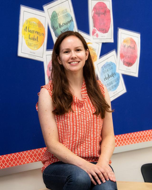 Jennifer Burns, teacher, South Lakes HS