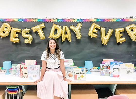 Sanya Chopra, Belvedere ES, fifth grade teacher
