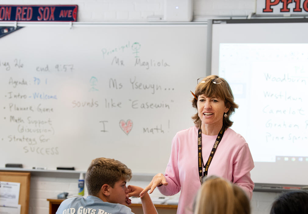 Jackson MS Math Teacher Linda Ysewyn