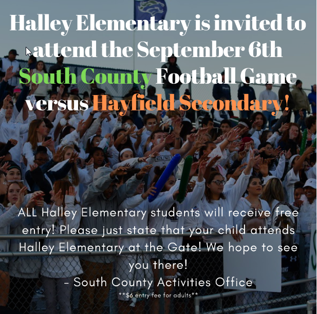 South County Football Game