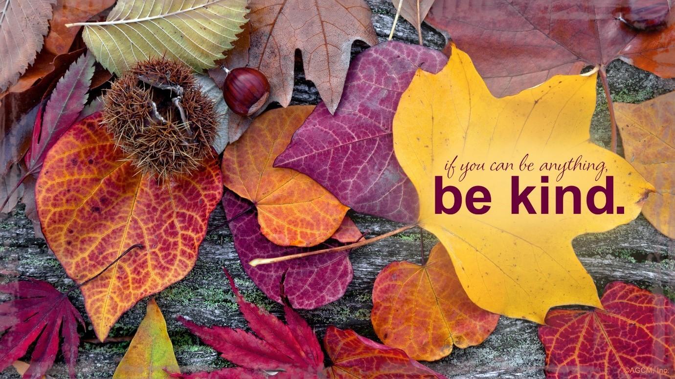October Be Kind