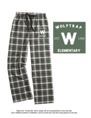 Spirit Wear - Flannel PJ Pants