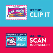Box Tops Clip and Scan