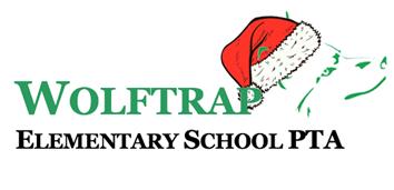 Holiday Wolftrap PTA Logo