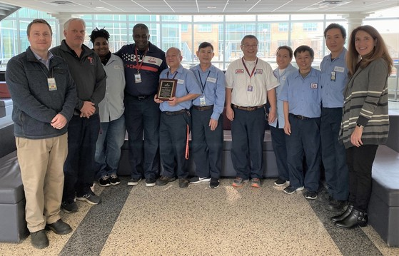 TJ 2019 Custodial Staff of the Year