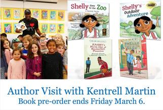 Kentrell Martin Author Visit