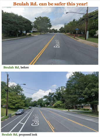 Beulah Rd Safety Survey
