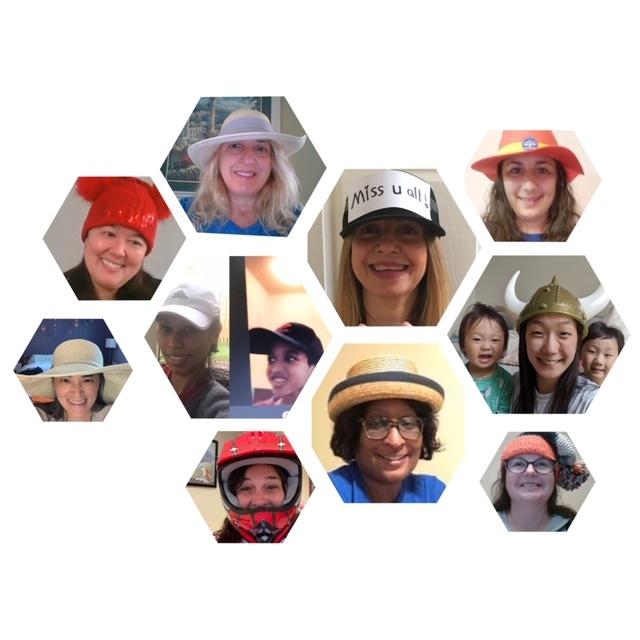 BMP celebrate virtual school spirit with hat day
