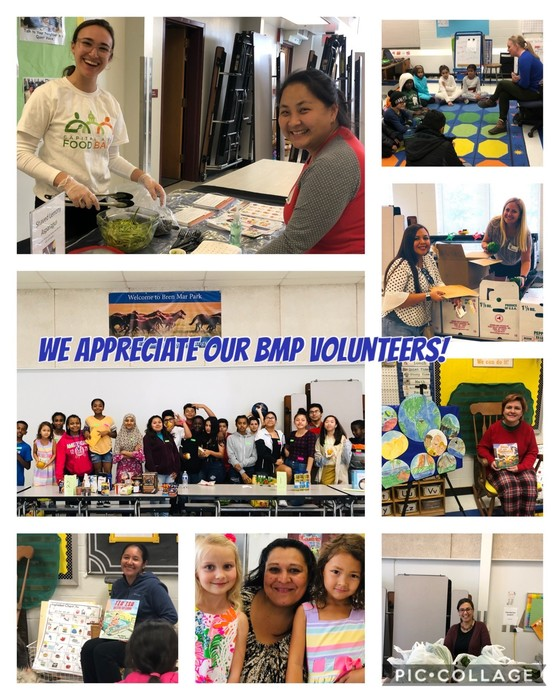 BMP Loves It's Volunteers