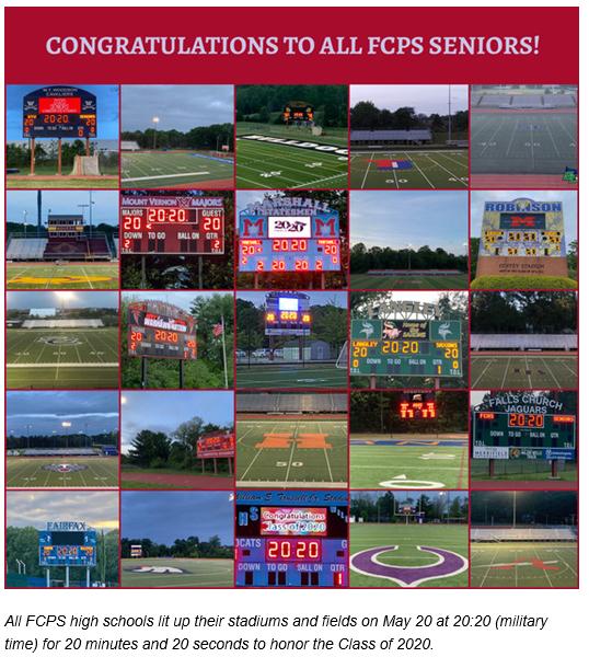 All FCPS Seniors Score Boards