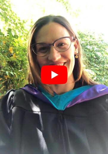 Melanie Meren Graduation Video Message