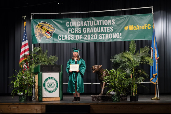 Falls Church HS Graduate