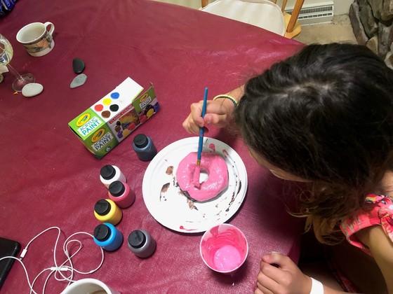 Meren's kid painting