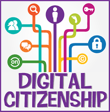 Digital Citizenship with computer graphic