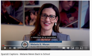 Back to School Video with Spanish captions