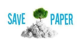 Save Paper Pic