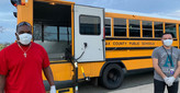 FCPS meal delivery bus drivers
