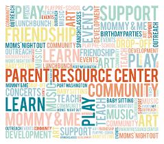 Parent Resource Center graphic
