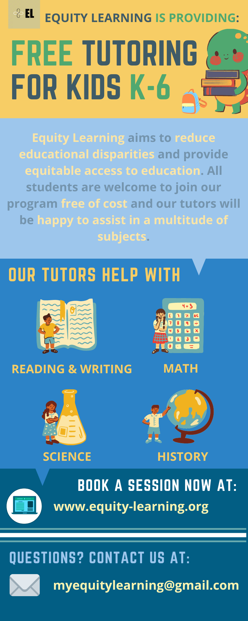 Equity Learning Free Tutoring