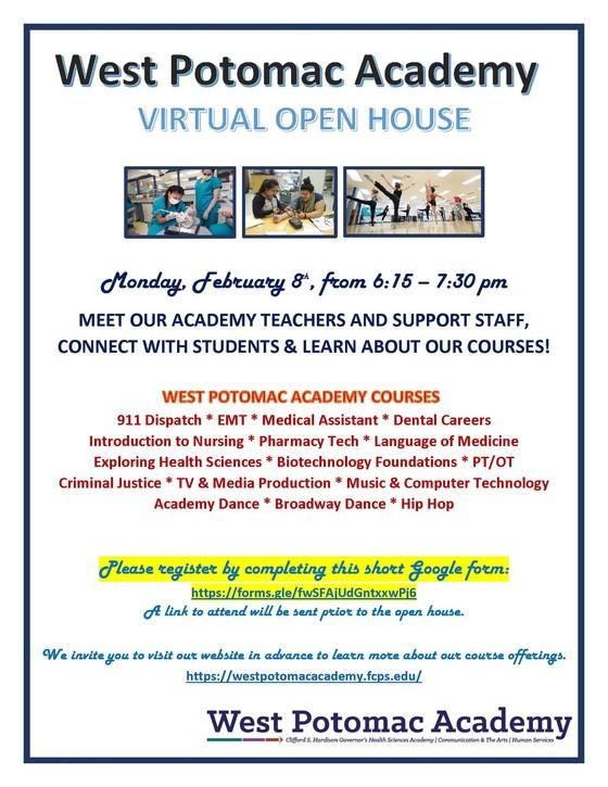 WPA Virtual Open House