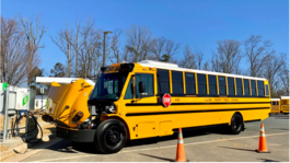 FCPS' First Electric Bus