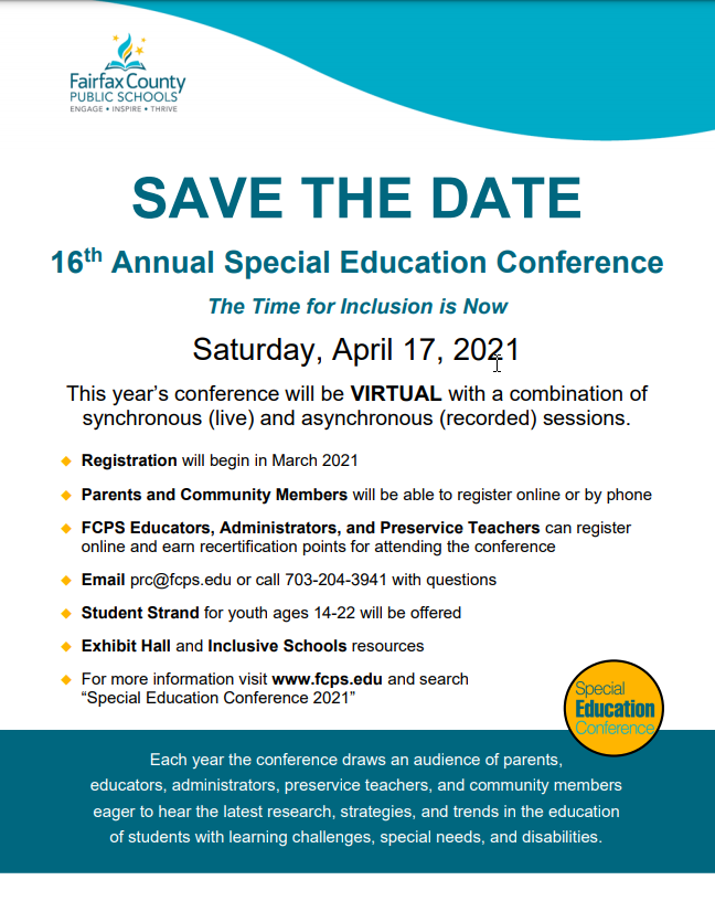 Special Ed Conference