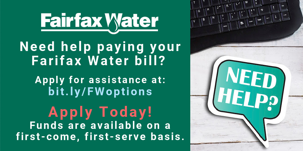 Fairfax Water Bill Payment Assistance
