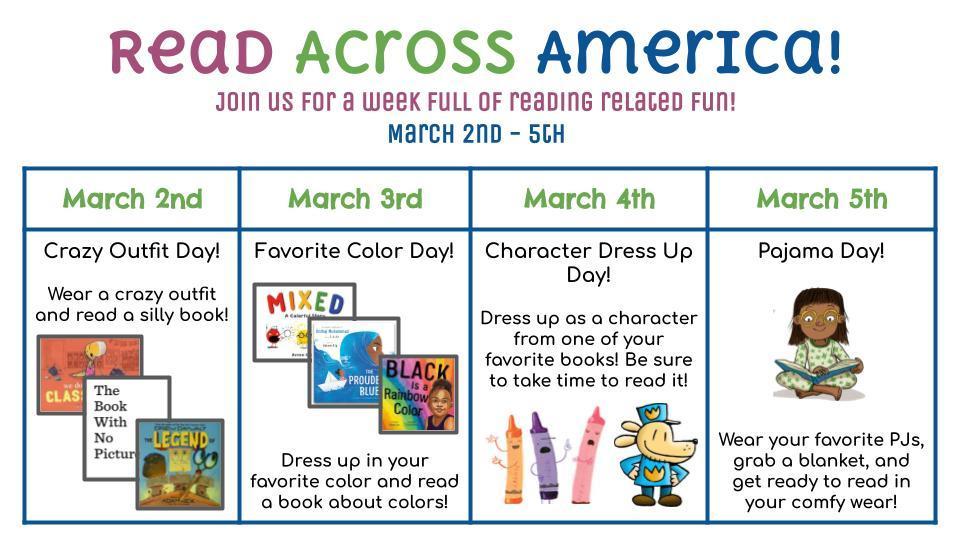 Read Across America Spirit Week